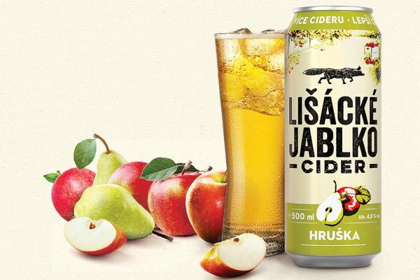 Cider Lišácké jablko od Heinekenu dostane hruškovou příchuť