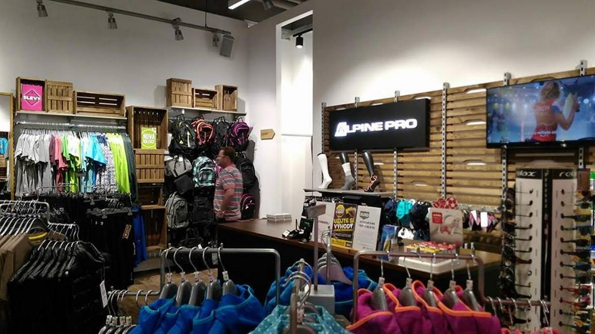 Nová prodejna Alpine Pro v Palladiu