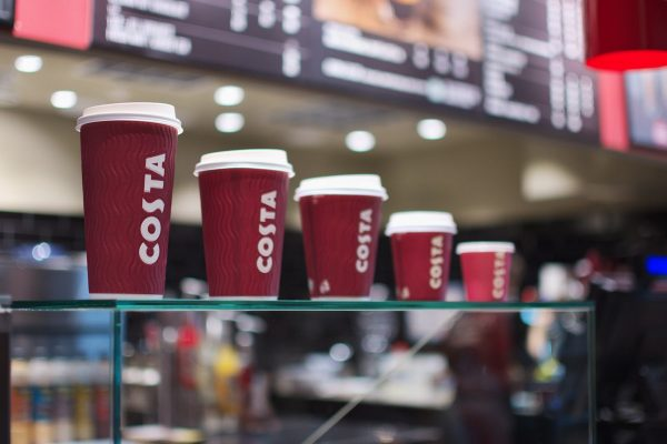 Coca-Cola kupuje britský kavárenský řetězec Costa Coffee