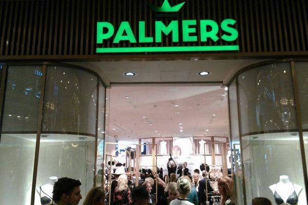 Palmers má vlajkovou prodejnu v Palladiu, do roka chce v regionu 20 poboček