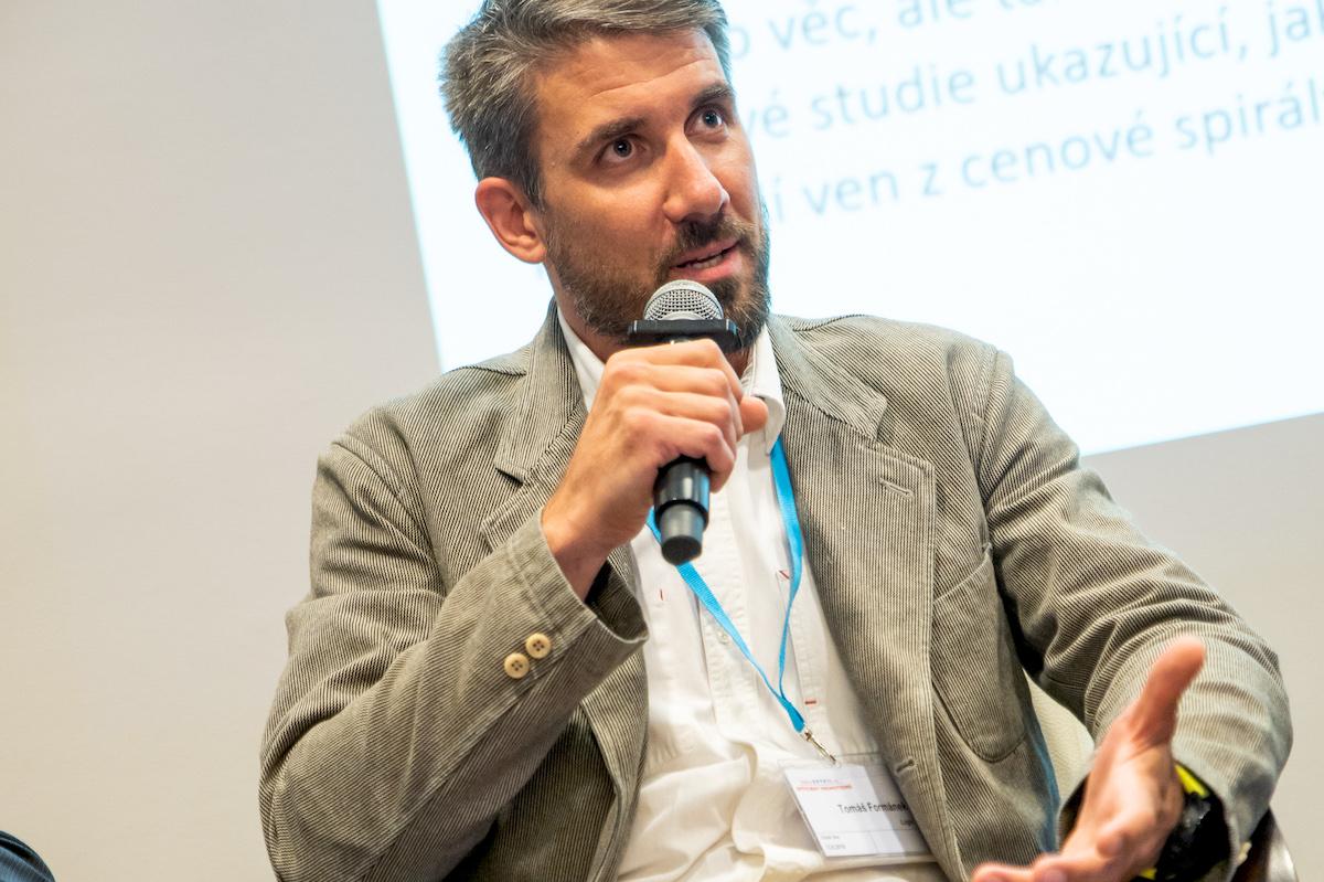 Tomáš Formánek na konferenci Retail in Detail v červnu 2018. Foto: Blue Events