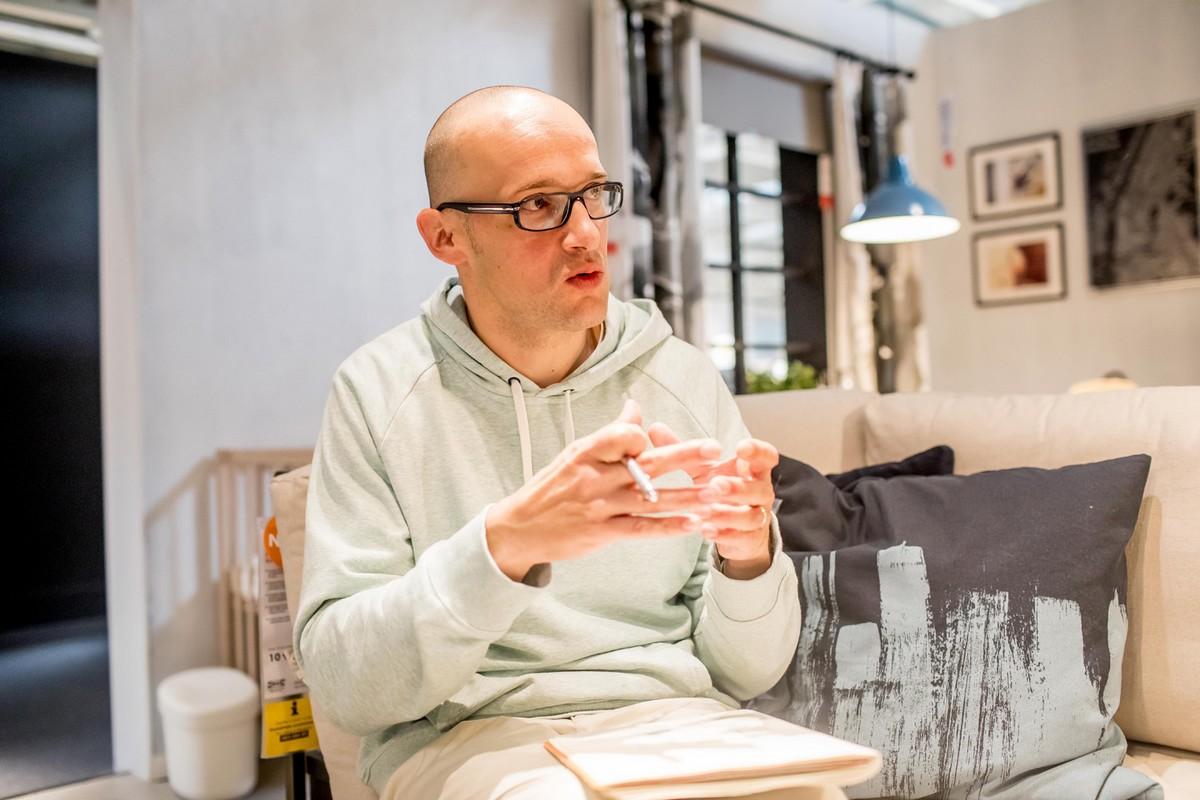 Ondřej Bystroň, designér interiérů prodejen Ikea