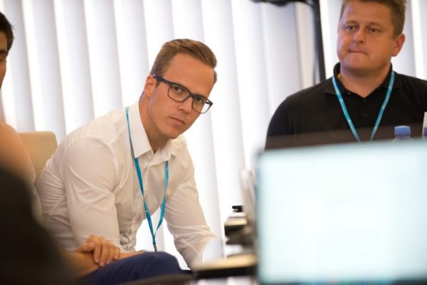 Jakub Šulta na konferenci Retail in Detail. Foto: David Bruner