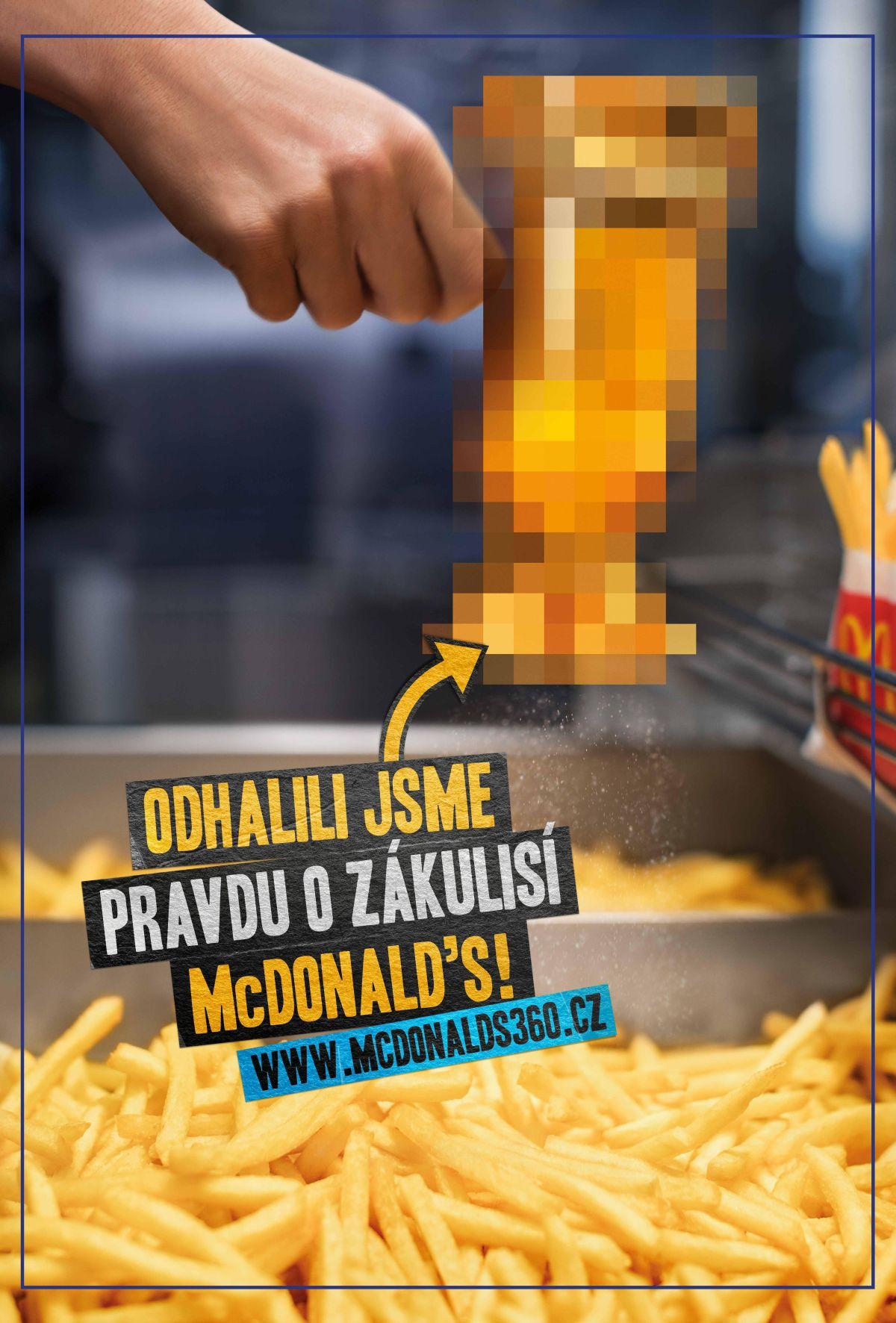 Projekt 360° webu ze zákulisí McDonalds podpoří reklamní kampaň