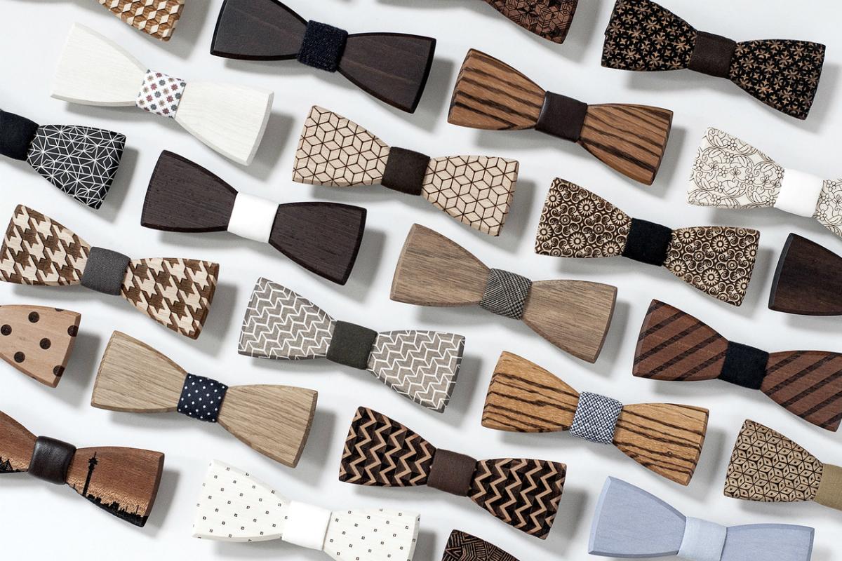 Kolekce dřevěných motýlků BeWooden pro Vánoce 2017