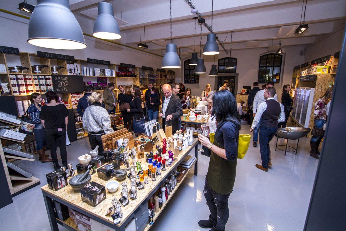 V holešovické tržnici byla otevřená nová prodejna Chefparade