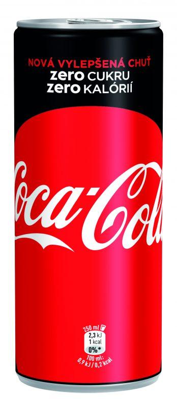 Coca-Cola zero cukru zero kalorií