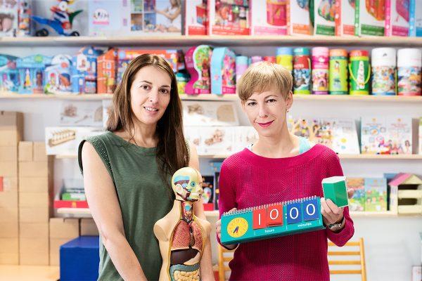 Hračkářství Kidtown přidává edukativní sekci a spouští nadační fond