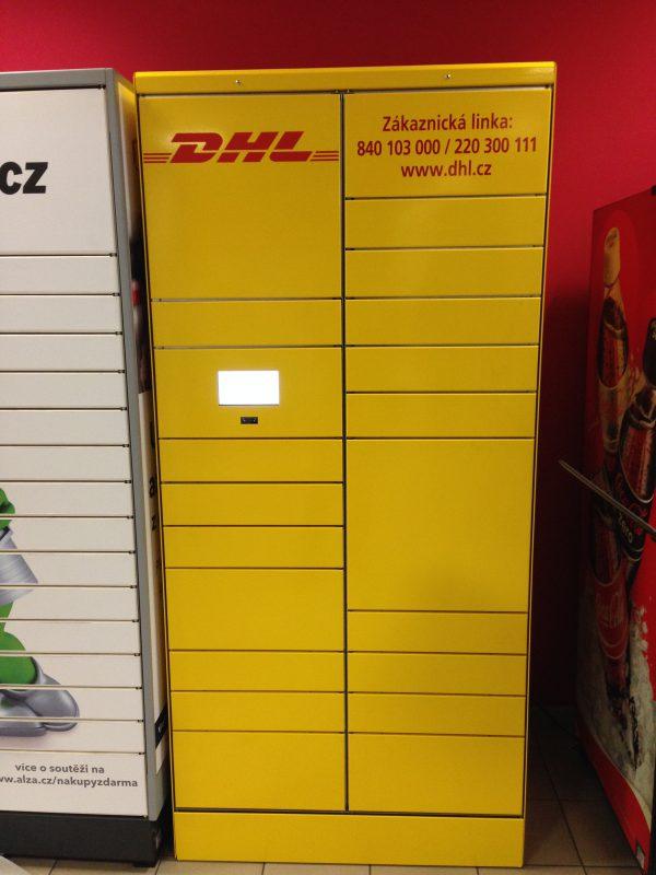 Úložný prostor DHL Locker