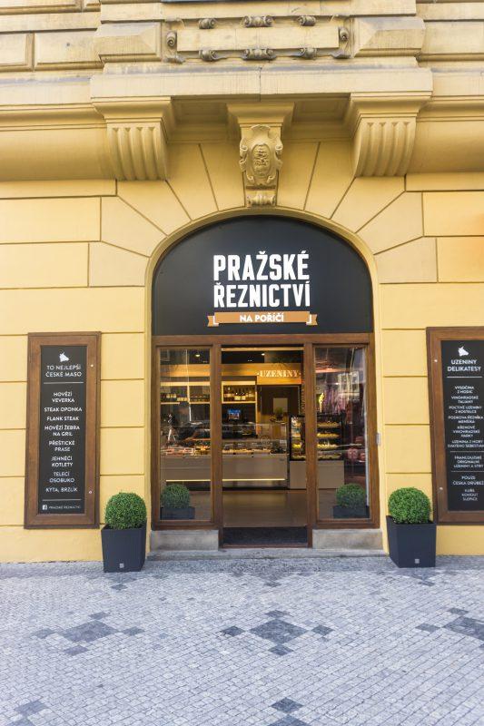 Exteriéry Pražského řeznictví