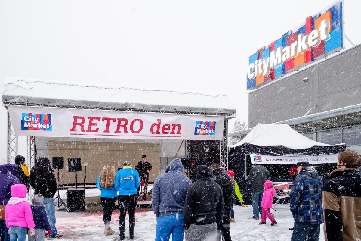 Pod brandem City Market byl loni otevřen retailový park v Třinci, stejně tak v Rožumberoku