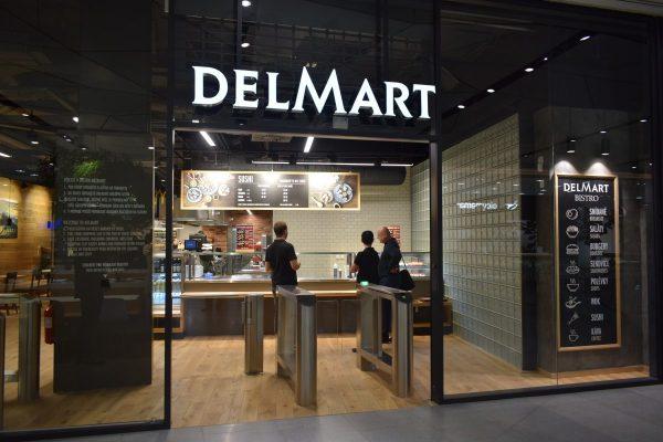 Delmart ke své prodejně v Quadriu přidává bistro