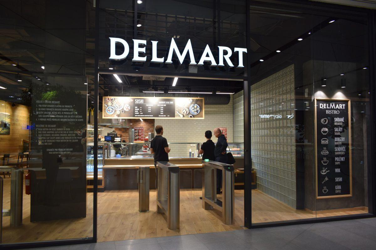 Nové bistro Delmartu