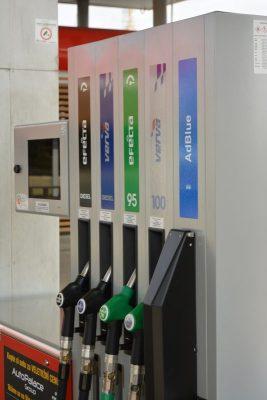 Na stojanu Benziny přibylo palivo AdBlue