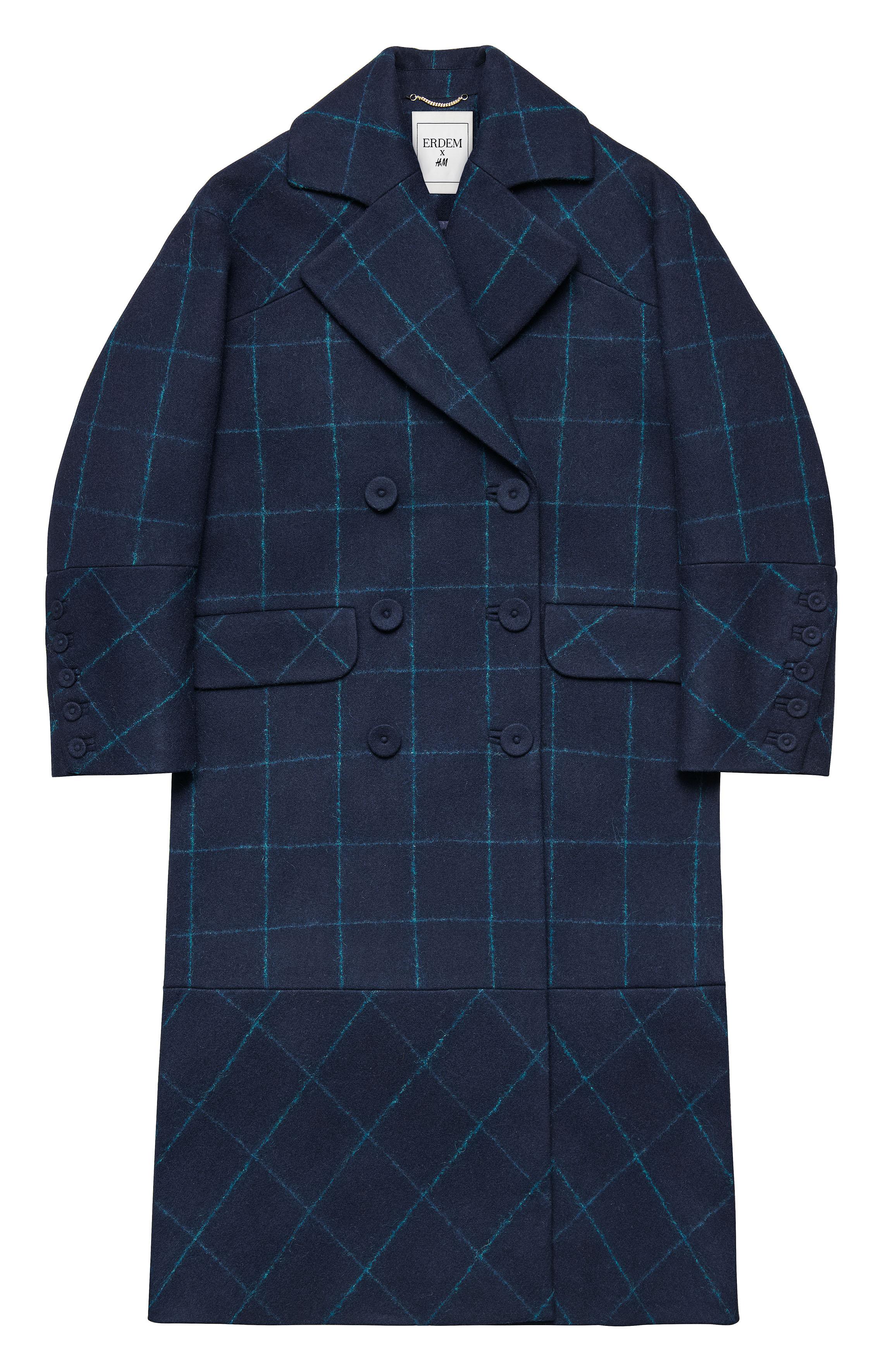 Erdem pro H&M, kabát $249