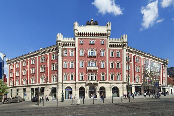 Pražské Palladium zrekonstruuje fasádu i vnitřní prostory