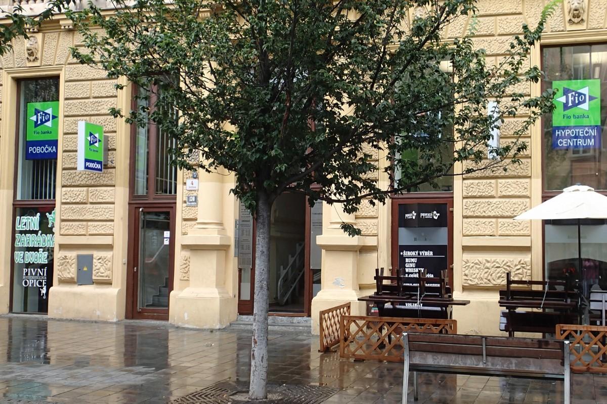 Nové hypoteční centrum Fio banky v Brně