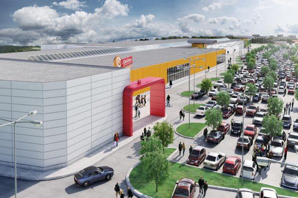 V roce 2018 otevře v Česku jediné nové obchodní centrum, ostravské Géčko