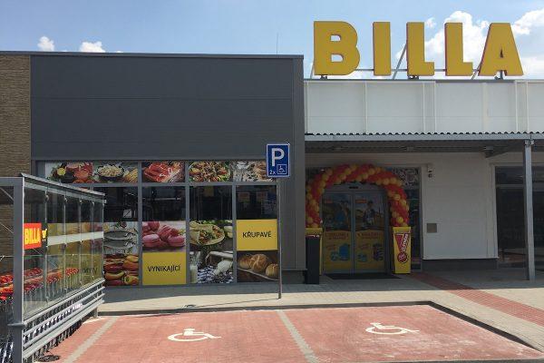 Billa má čtvrtý supermarket na Praze 9, nabízí regionální jídlo