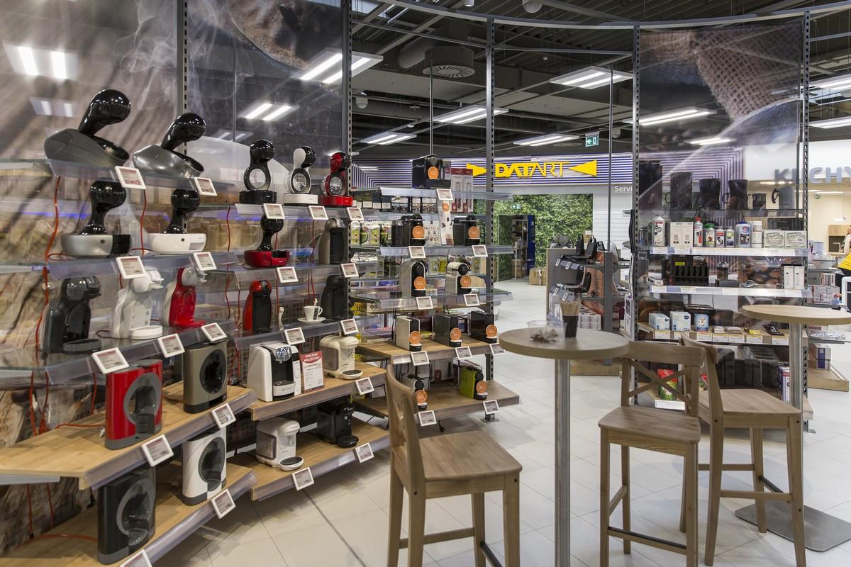 Nová Café plaza v Datartu