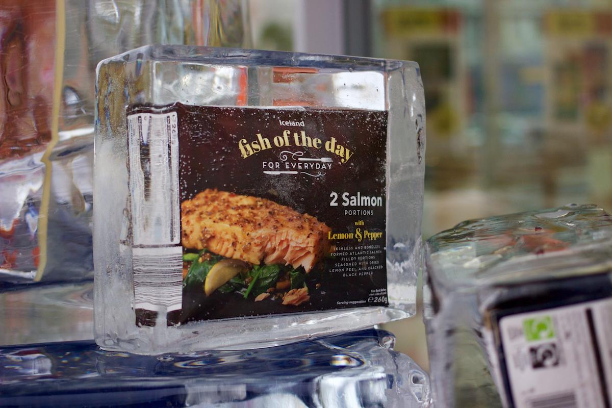 Iceland nabízí britské potraviny
