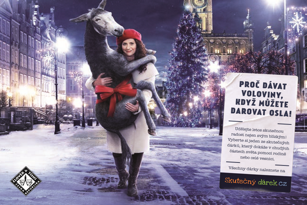 Vánoční kampaň Člověka v tísni
