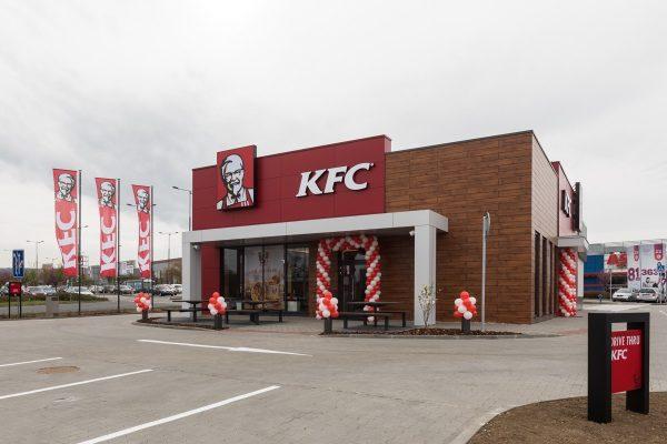 KFC otevřelo druhou pobočku ve Zlíně, v Česku osmdesátou
