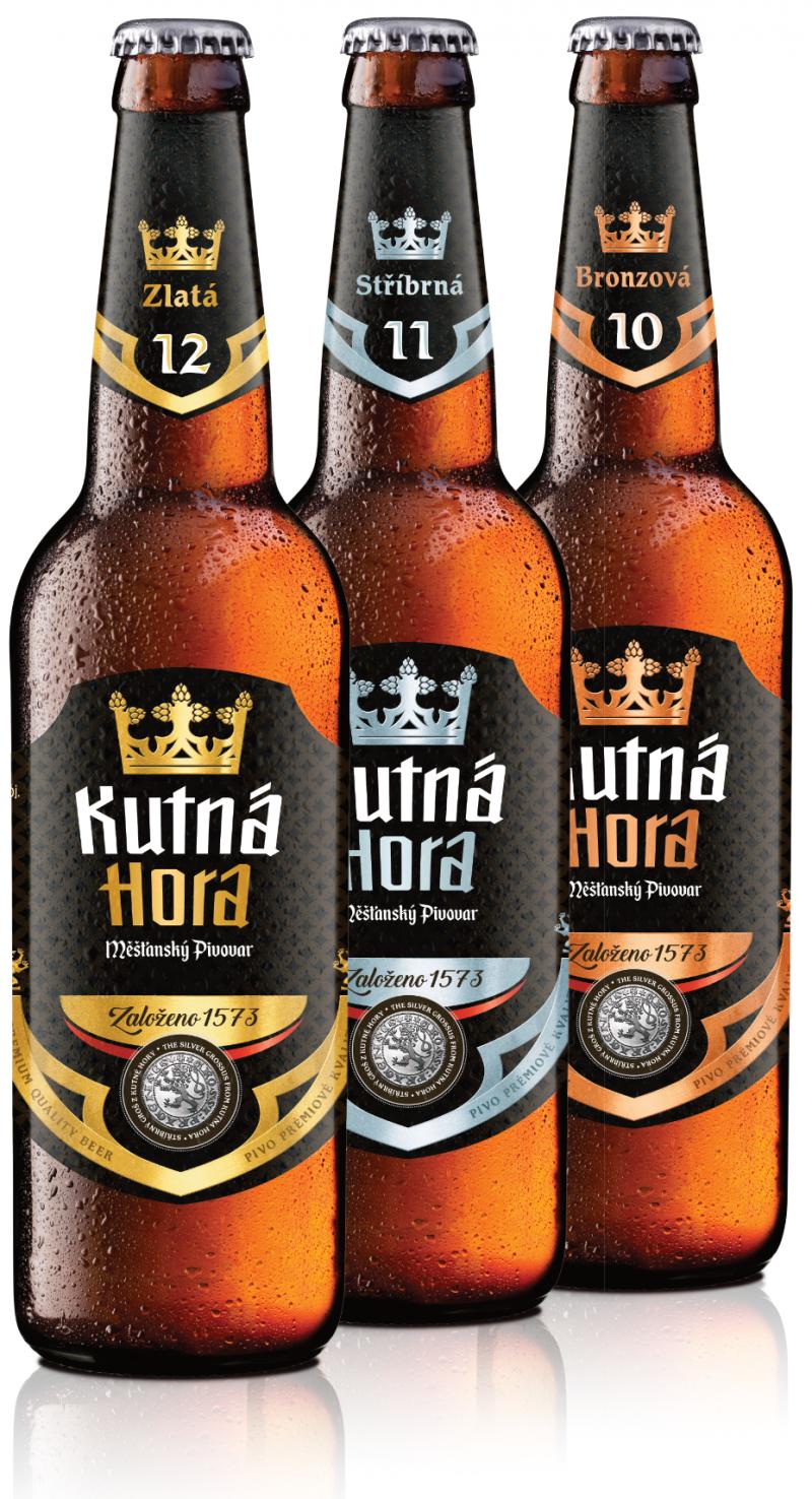 Pivovar vaří piva o třech stupňovitostech