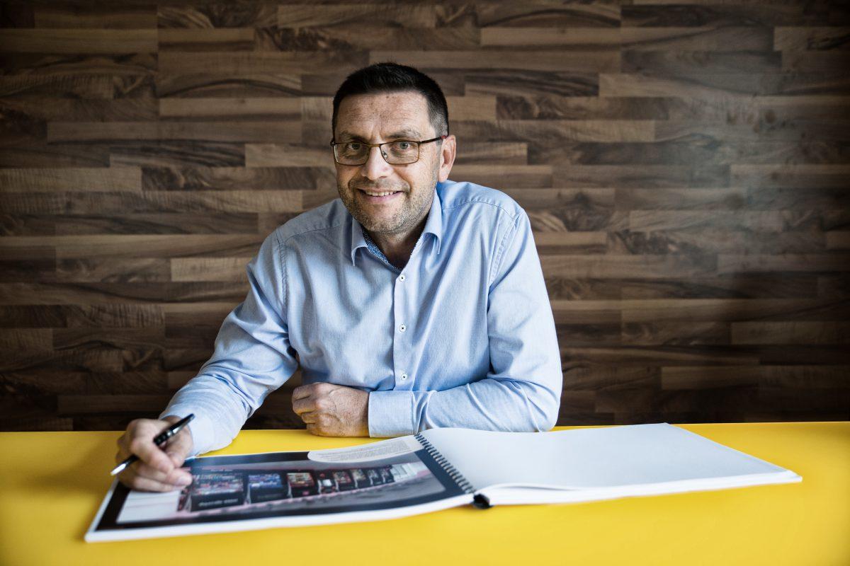 Za Moris design trendy popsal šéf společnosti Radomír Klofáč