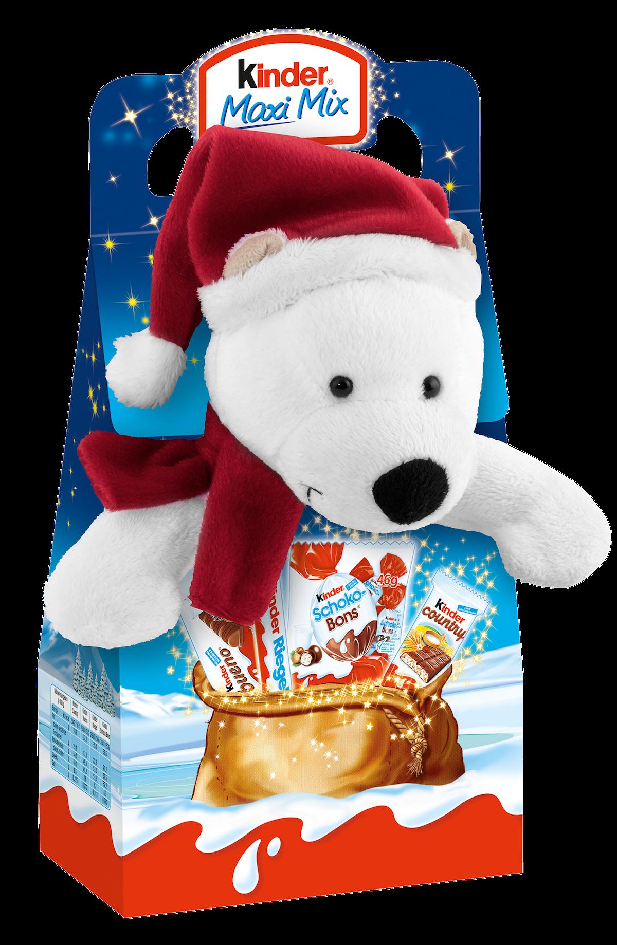 Čokoláda Kinder s plyšovou hračkou