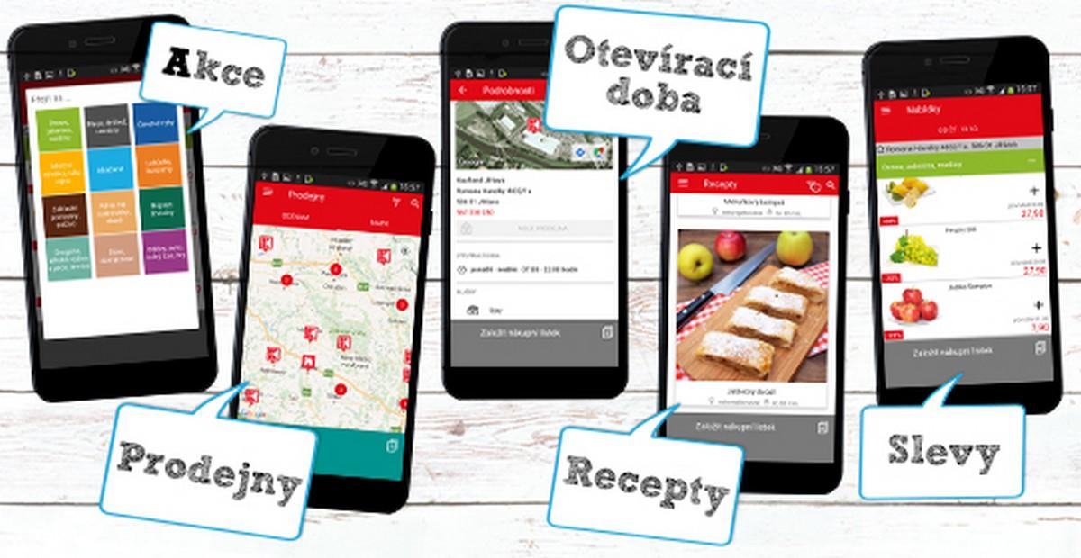 Kaufland spouští stejnojmennou mobilní aplikaci