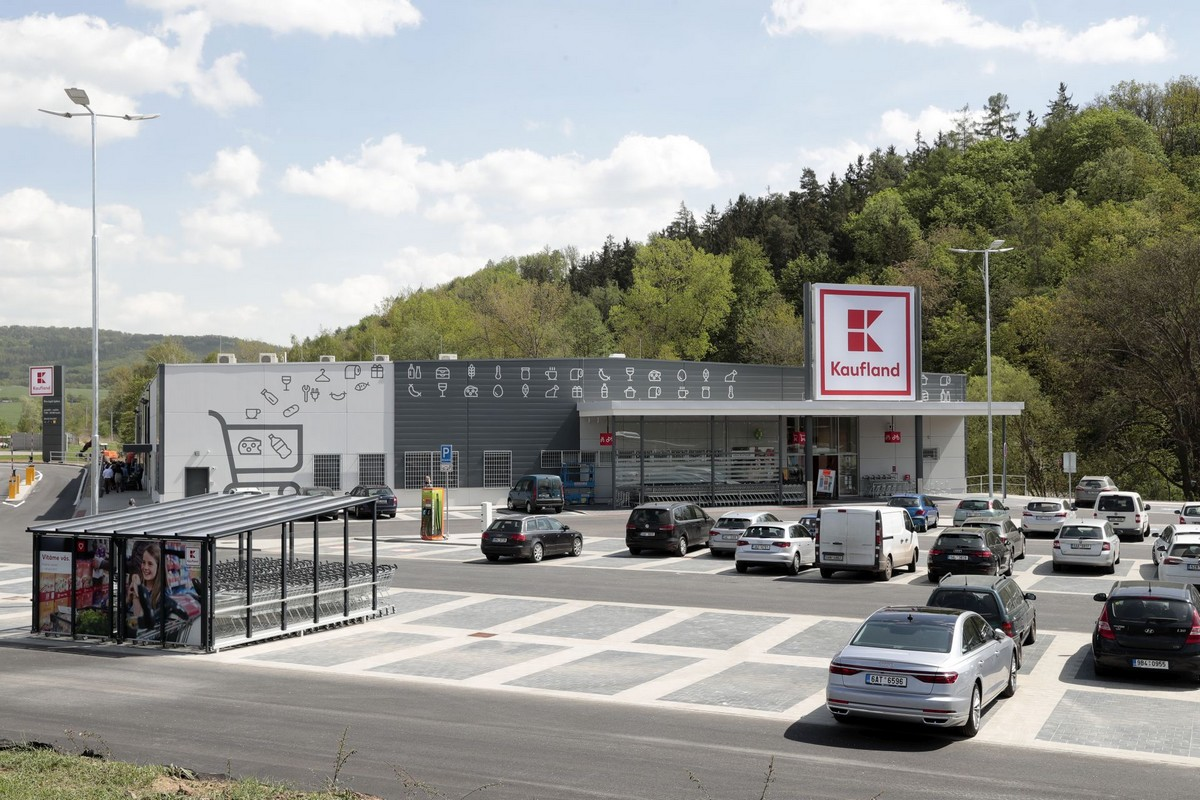 Nová prodejna Kauflandu v Kuřimi