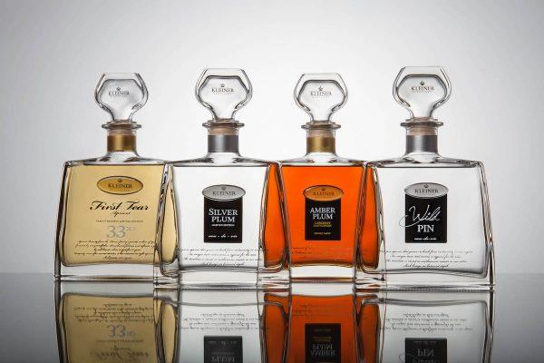 Kleiner představil nové prémiové destiláty, lahve prodává ve Warehousu