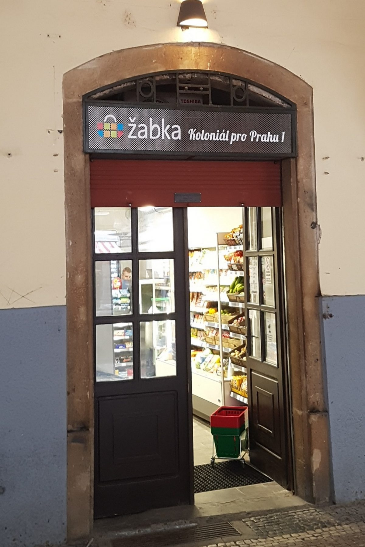 Nová prodejna Žabka v Havelské ulici