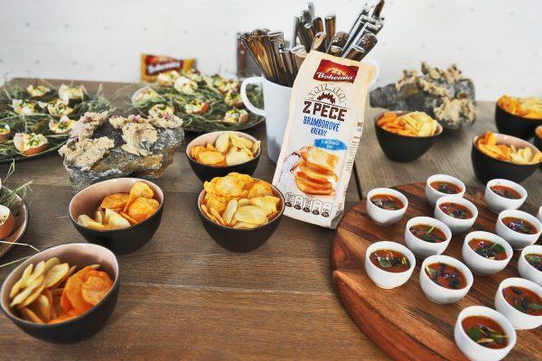 Výrobce Bohemia Chips loni v Česku zvýšil tržby o 2 %