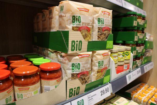 Lidl přidává další biopotraviny, vyhradil jim vlastní regál