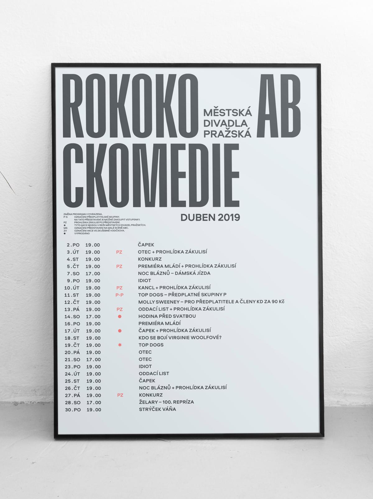 Nový vizuál Městských divadel pražských
