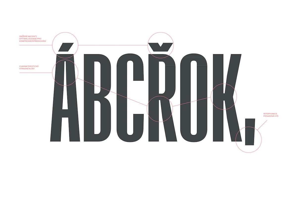 Nové písmo Městských divadel pražských