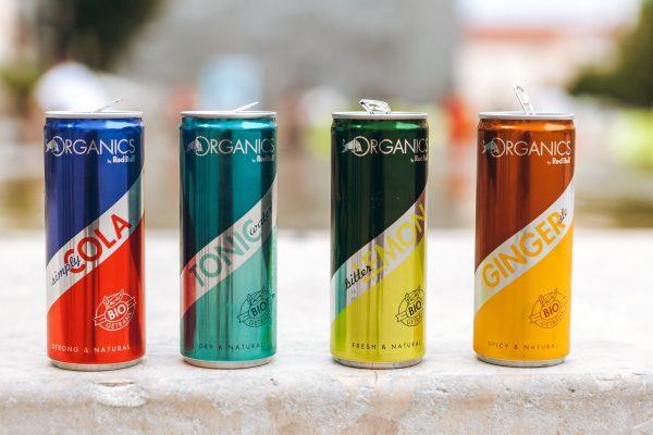 Red Bull k energetickým nápojům přidává bio limonády Organics