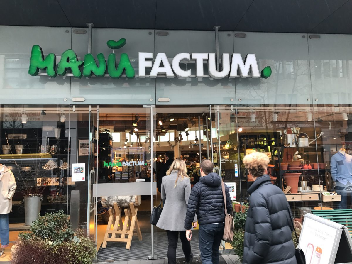 Prodejna Manufactum