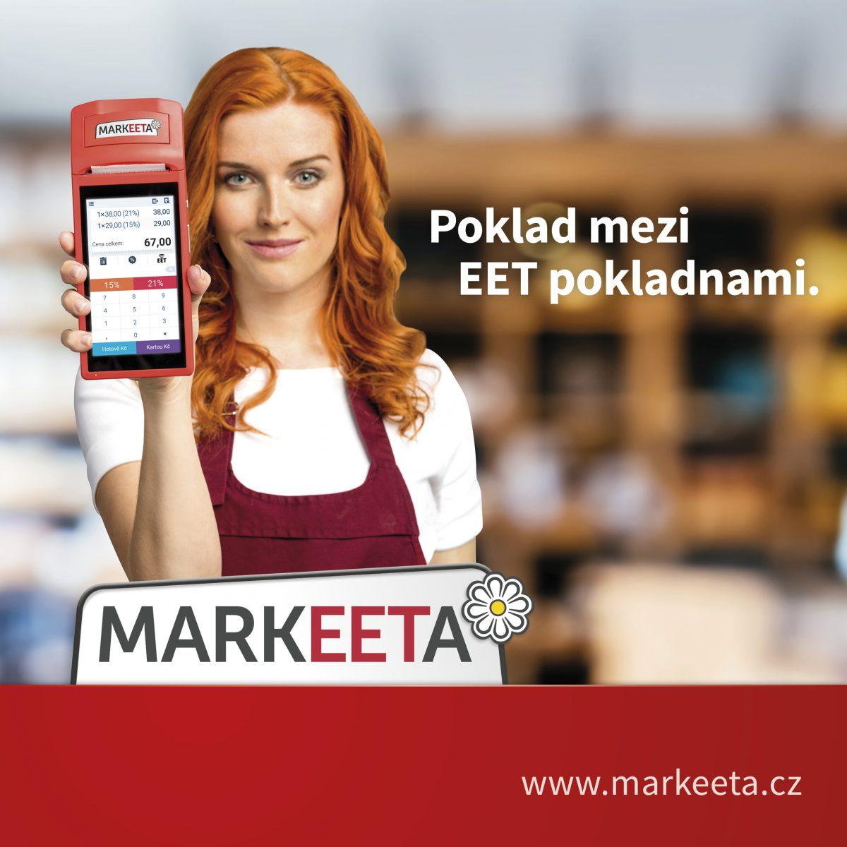 Pokladní systém EET Markeeta
