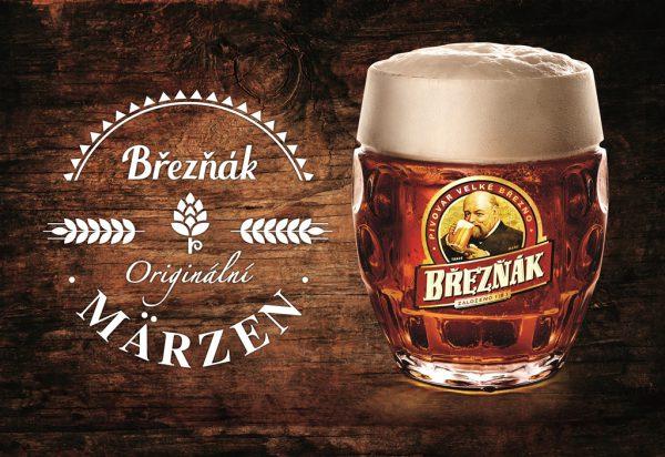 Speciální pivo Březňáka Märzen