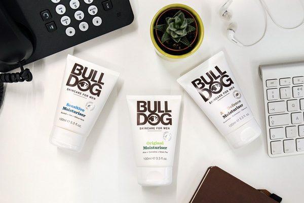Britská veganská kosmetika pro muže Bulldog přichází do Česka