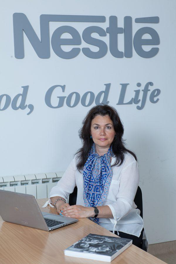 Světlana Boldina, nová finanční ředitelka Nestlé