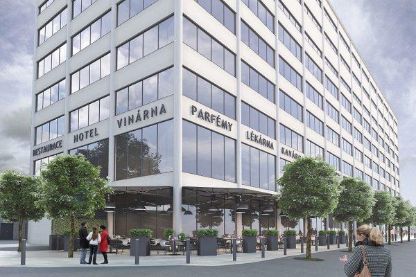 Zlínský Prior s novou tváří: HP Tronic buduje administrativní centrum i hotel