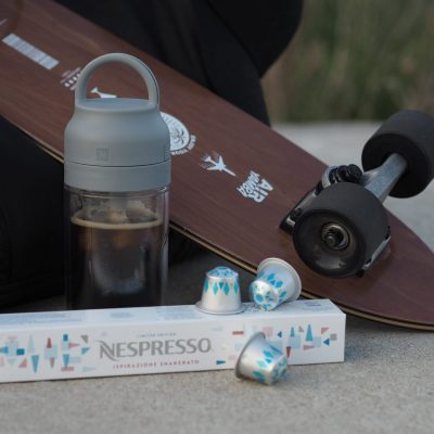 Kapsle a termo lahev z limitované nabídky Nespressa