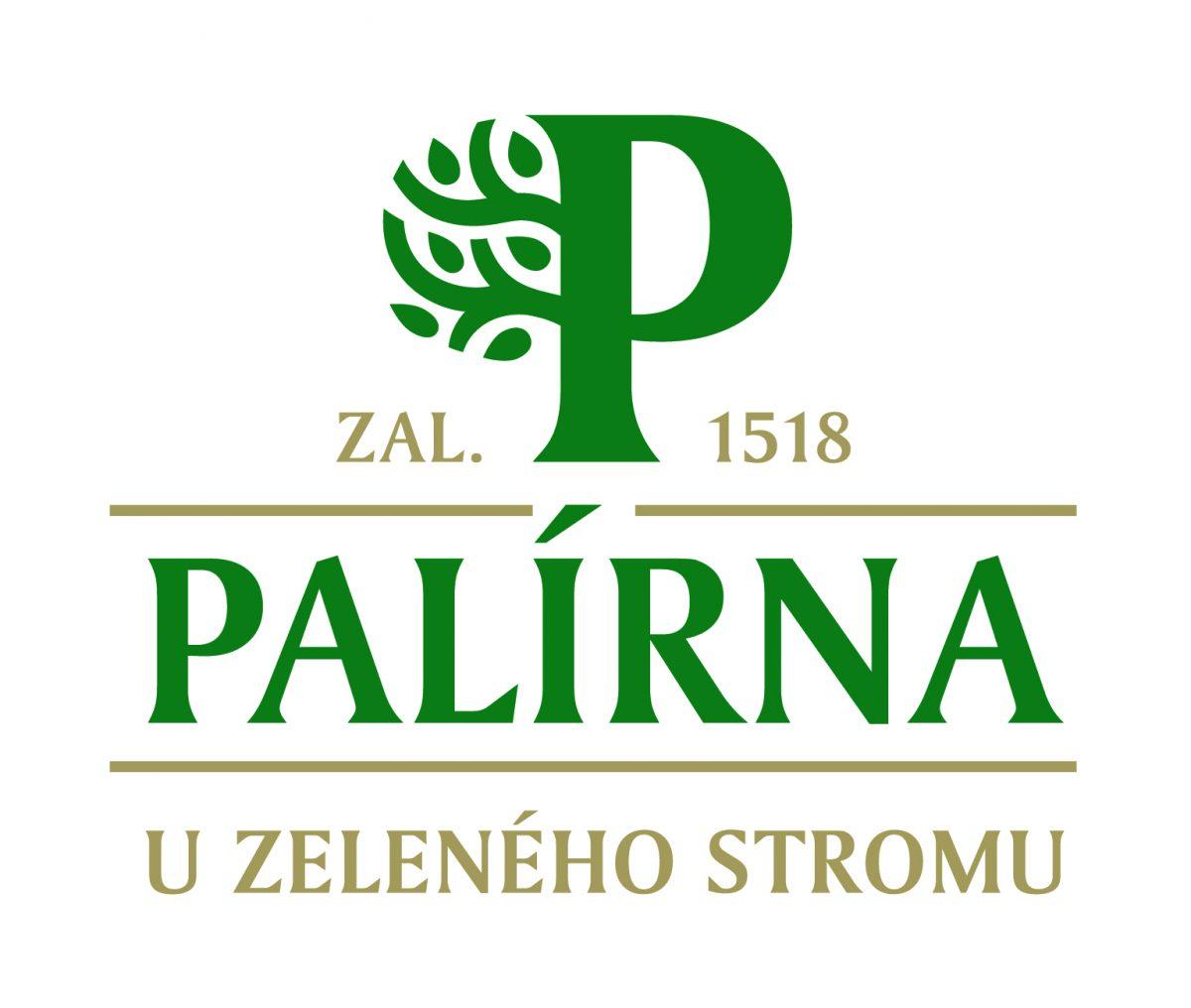 Nové logo Palírny U Zeleného stromu