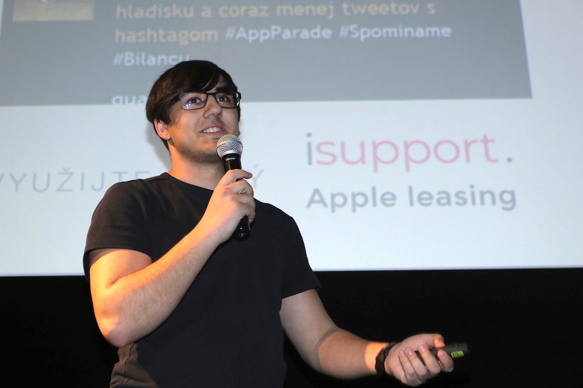 Adam Salih na AppParade představil mobilní pokladní systém Andrej POS