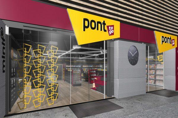 Síť Pont se mění na Pont to Go, přebarví se na vínovo-žluto a přidá vinotéku