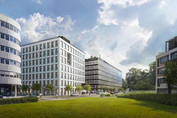 Na Praze 8 roste Palmovka Open Park. Součástí bude i plocha pro retail